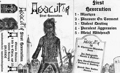 Hexecutor - Front Cover