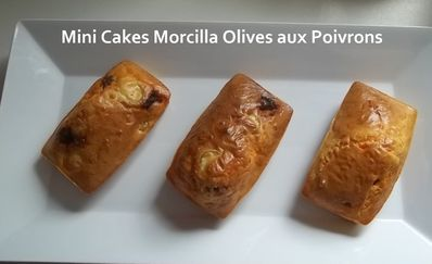 mini cakes morc olives 1