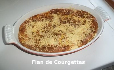 Flan courg 2