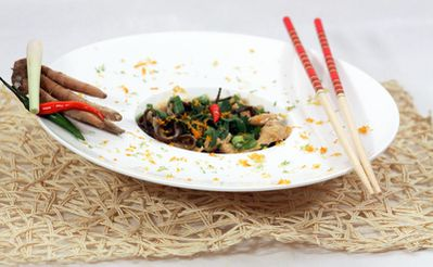 Soupe repas chinoise