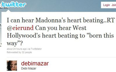 Debi Mazar on Lady Gaga's ''Born This Way'' and Madonna