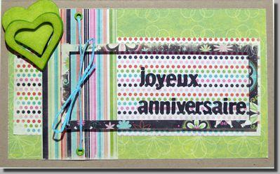 Joyeux anniversaire Carinnette