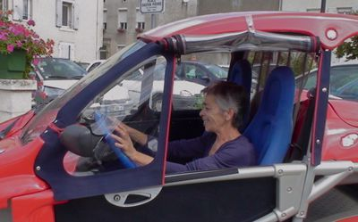 Fenêtre de voiturette