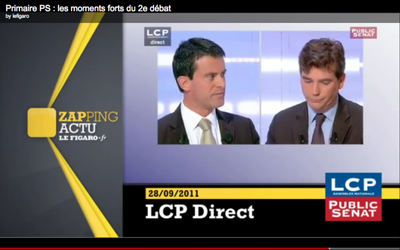 moue agacement montebourg valls accrochage