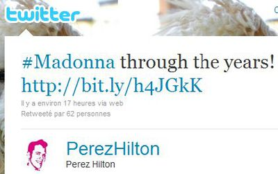 Perez Hilton's Madonna Gallery: ''Through The Years...Madonna''