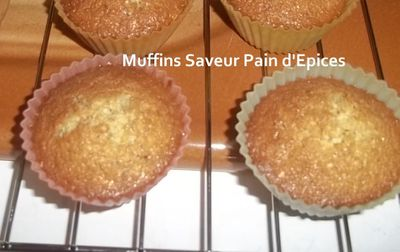 Muffins pain epices 3