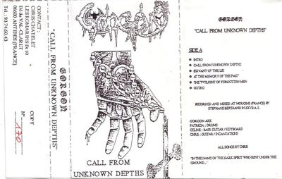 Gorgon - Front cover