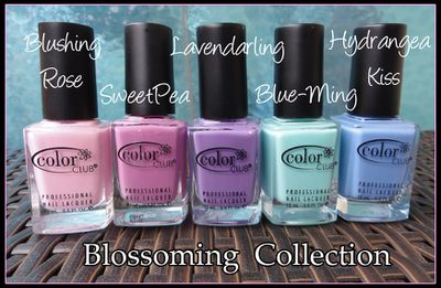 Color Club Blossoming Collection