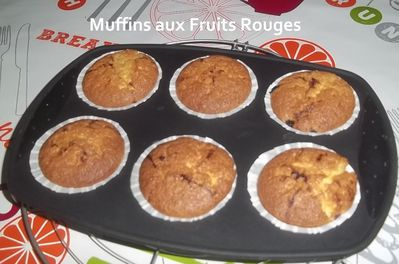 muffins fruits rouges 3