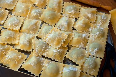 Ravioli blettes cepes 02
