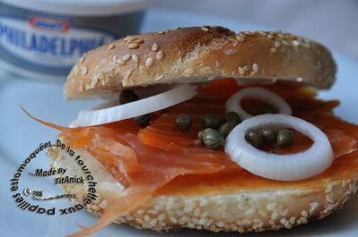 bagel saumon fromage logo