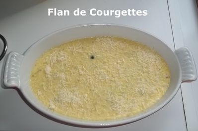 Flan courg 1