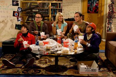 Sitcom the big bang theory