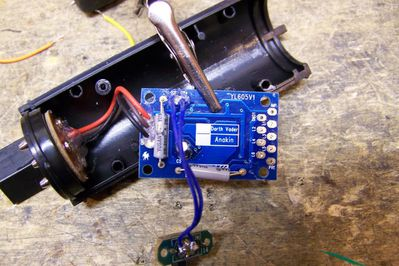Optimisation du cablage - 02 - fils dessoudes