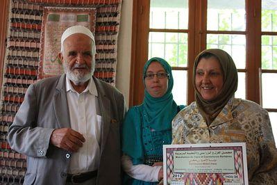M. Bikrici, Hannen et Mme Baba Ahmed A.