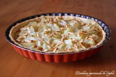 tarte blettes roquefort pignons 1