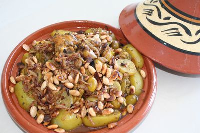 tagine citron olives amandes (5)
