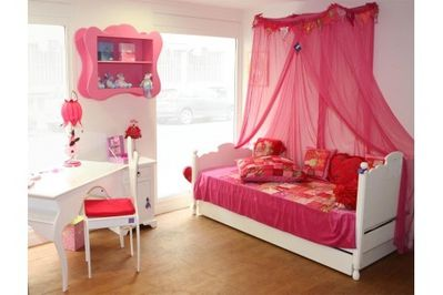 une chambre de princesse le blog de manddeco. Black Bedroom Furniture Sets. Home Design Ideas