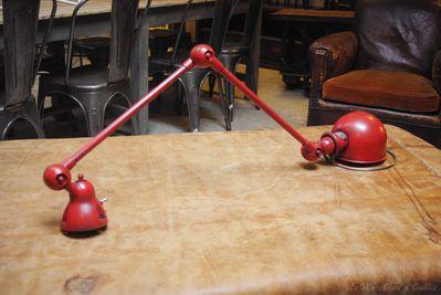 Lampe jielde 2 bras le blog du marchand d 39 oublis - Lampes jielde anciennes ...