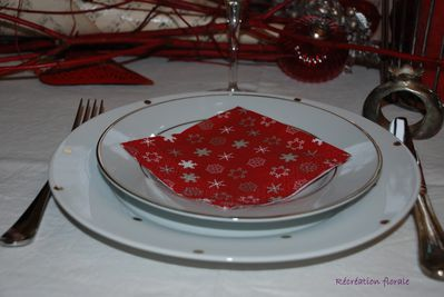 Table Noel rouge 3