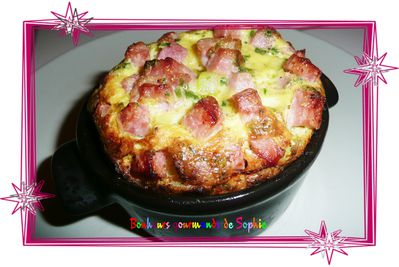 clafoutis courgettes jambon curry 1