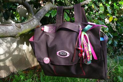 cartable de Rose-suspendu