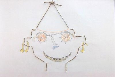 3eD diff vestim chapeau, musique bouche oreilles, invention