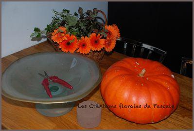 Citrouille déco Halloween