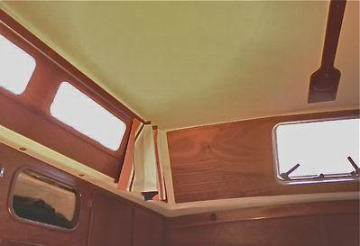 Vaigrage cabine arrière Super Maramu
