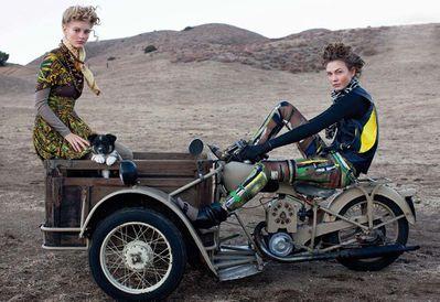 1950 Tri peugeot arthur elgort-Vogue 2010