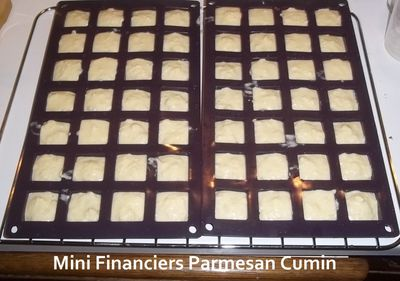 Mini financiers parmesan cumin 2