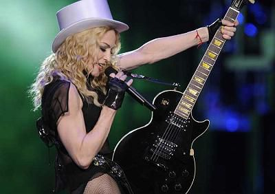 Madonna performs Sunday night at the United Center