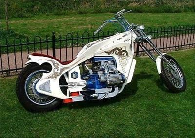 goldwing chopper Custom