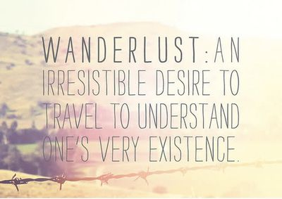 Inspirations A New Word Wanderlust Emy Globe