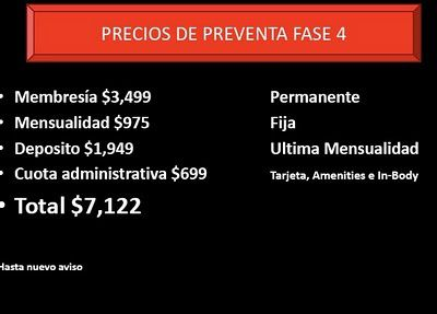 Madonna Hard Candy Fitness: Mexico center prices