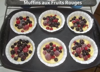 muffins fruits rouges 2