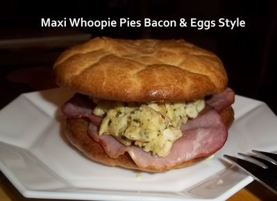 Whoopie bacon eggs 2