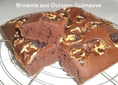Brownie oursons 3