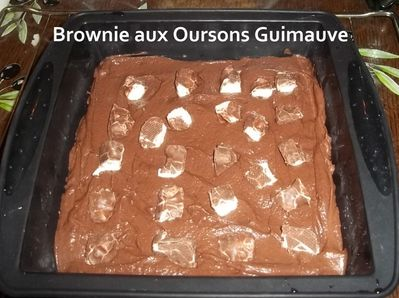 Brownie oursons 1