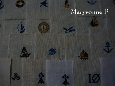 Badges SNSM-Maryvonne-Mamigoz