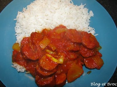 rougail saucisses 1