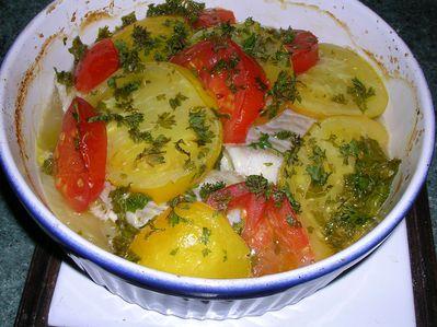 Cuisiner le fenouil avec du lieu noir les passions d 39 hortens - Cuisiner poisson congele ...