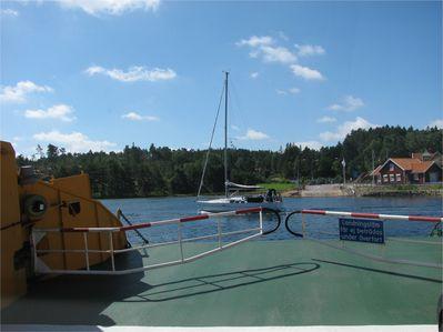 Mollosund ferry