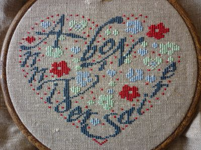 Coeur Bon Anniversaire 04