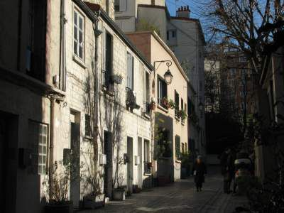 Rue tranquille, Paris