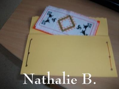 Marque-pages Nathalie B.