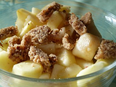 fruits streusel