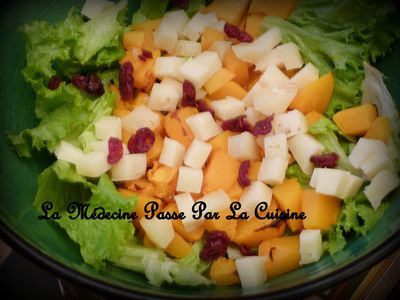 salade potiron ossau iraty