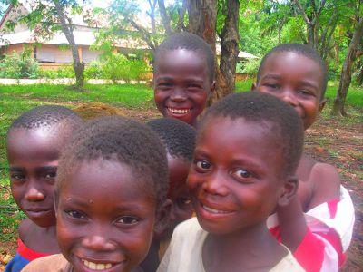 Enfants d'Alindao