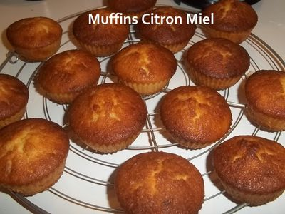 Muffins cit miel 3